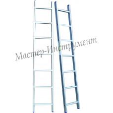 Алюминиевая лестница 6 ступеней односекционная (СТАНДАРТ)
