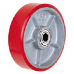 Колесо промышленное PU 160 б/кронштейна игольчатый подшипник