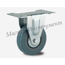 FCG 25 Колесо аппаратное серая резина неповоротное 50 мм