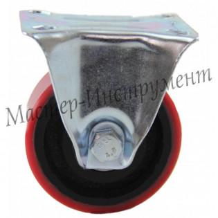 Колесо промышленное полиуретановое неповоротное ( Medium ) 100 мм