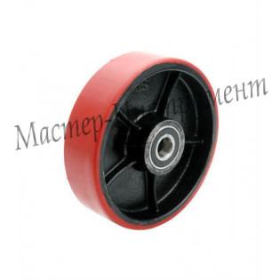Рулевое колесо полиуретановое PU 180 мм с подшипником