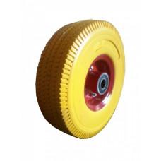 Колесо усиленное из пенополиуретана 3,00-4 ось 20 мм