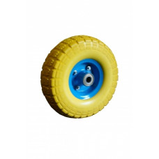 Колесо из пенополиуретана 3.50-4 ось 17 мм