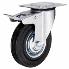 Промышленное колесо поворотное с тормозом SCb 85