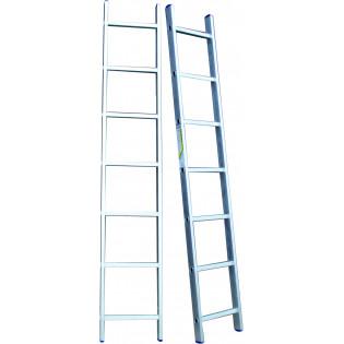 Алюминиевая лестница 8 ступеней односекционные (СТАНДАРТ)