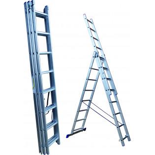 Лестница трехсекционная 15 ступеней (СТАНДАРТ)