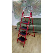 Лестница COMFORT двухсекционные 5 ступеней (УЦЕНКА -«вмятина» на ступени)