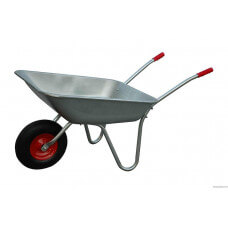 Тачка 85л садовая с колесом 4.00-6 подш.D-16
