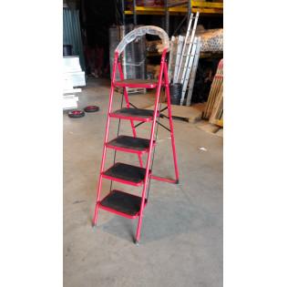 Лестница COMFORT двухсекционные 5 ступеней (УЦЕНКА -«царапина» на ступени)