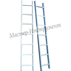 Лестница алюминиевая 18 ступеней односекционная (СТАНДАРТ)