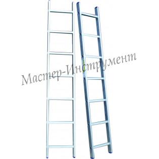 Алюминиевая лестница 10 ступеней односекционная (СТАНДАРТ)