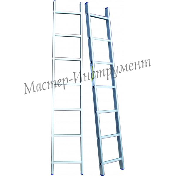 Алюминиевая лестница 8 ступеней односекционная (СТАНДАРТ)