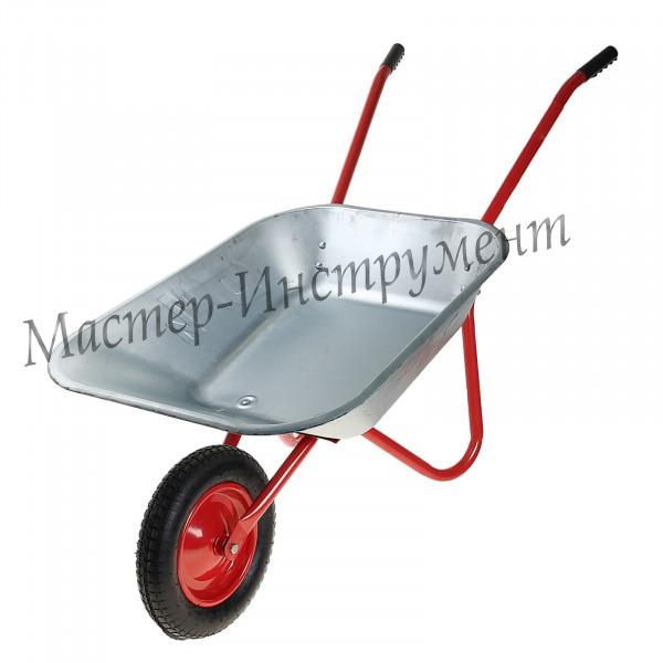 Тачка 85л Садовая МИ (красная) с колесом 3.25 D16