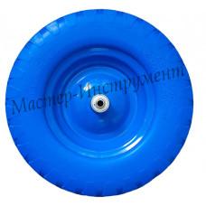 Бескамерное колесо 4.80/4.00х80 D16/12 (сим.ступица) ЭКОНОМ СИНЕЕ