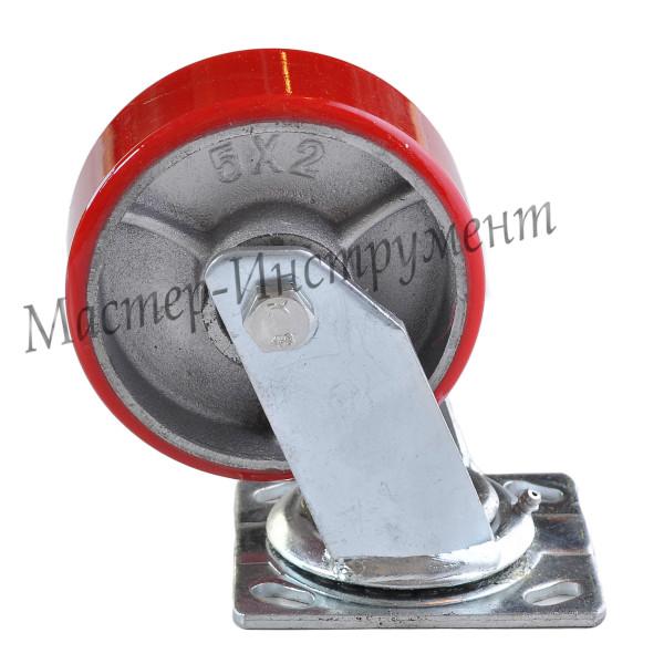 SCP 55 Колесо большегрузное полиуретановое поворотное 125 мм