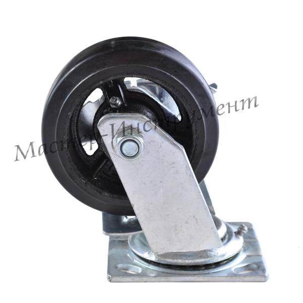 SCD 55 Колесо большегрузное обрезиненное поворотное 125мм