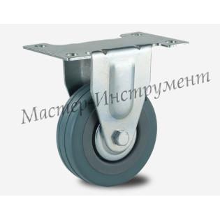 FCG 93 Колесо аппаратное серая резина неповоротное 75 мм
