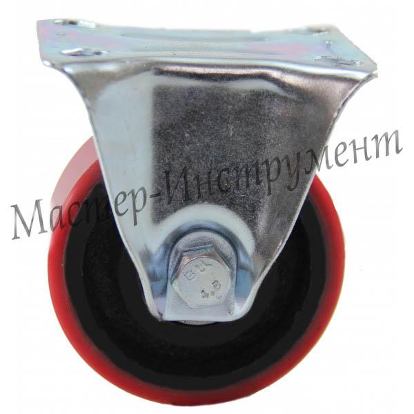 Колесо промышленное полиуретановое неповоротное ( Medium ) 125 мм