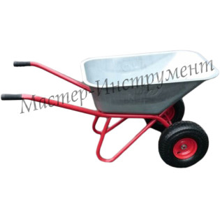 Тачка «СКОРПИОН»  Строительная 110л МИ с колесами 6.00 D20