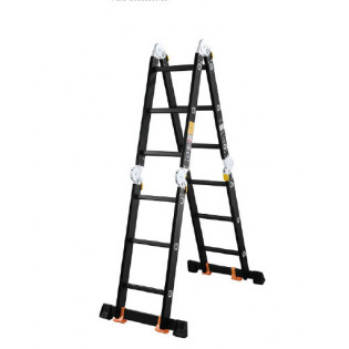 Лестница  4х5 трансформер МИ ПРОФИ 14,4 кг большой замок