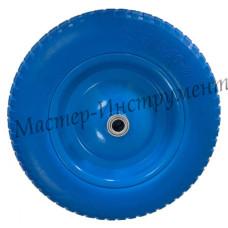 Бескамерное колесо 3.25/3.00х80 D16/12 (сим.ступица) ЭКОНОМ СИНЕЕ