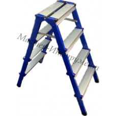 Стремянка стальная двухсторонняя 2 ступени