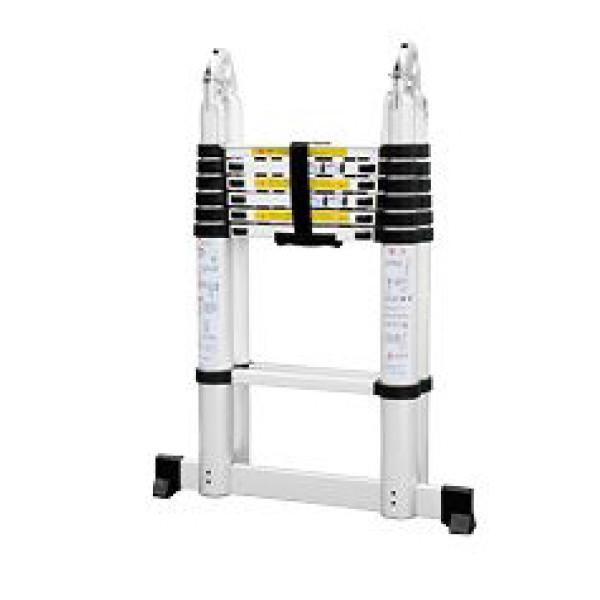 Лестница-стремянка телескопич. МИ 2.2м/4.4м 7 ступ