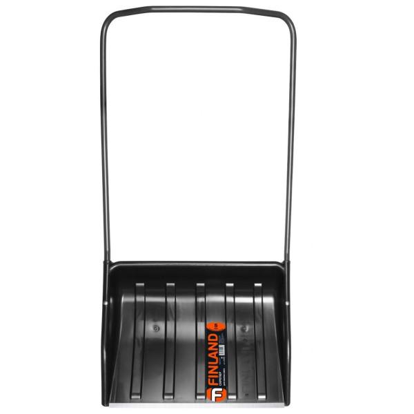 Скрепер для снега ЦИ FINLAND 680х540х140мм с П-образной металлич. ручкой