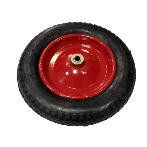 Тачка 85л Садовая МИ (красная) с колесом 3.25 D16/12