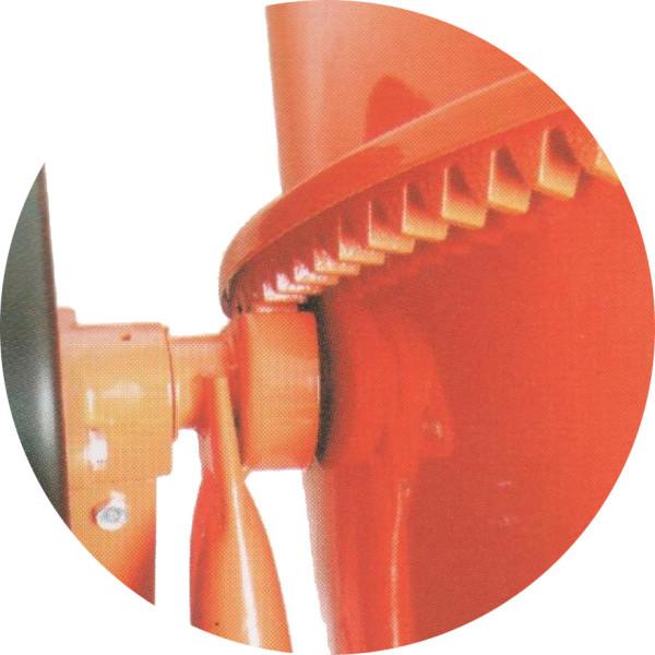 Бетономешалка электр. МИ 180л  (зуб.венец)