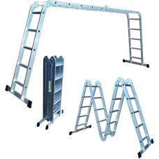 "Лестница-трансформер  4*5, 16,5кг ""Стандарт"" бол. замок"