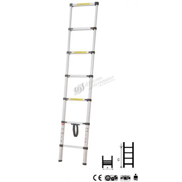 Лестница телескопическая МИ 4.8м 14ступ.