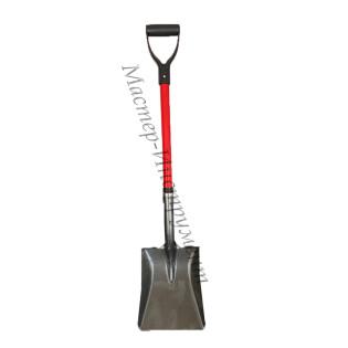 Лопата совковая фиберглассовый черенок 105см