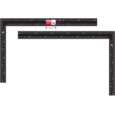 Угольник  столярный стальной цельнометаллический 600x400