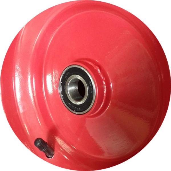 Колесо пневматическое 6,5х80 D-50/20 (не сим.ступица)
